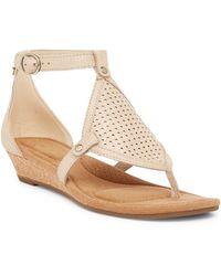 UGG - Briona Wedge Sandal - Lyst