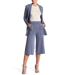 BCBGeneration - Striped Coulette Pants - Lyst