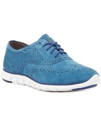 Cole Haan - Zerogrand Perforated Wingtip Trainer - Lyst