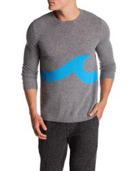 Surfside Supply - Cashmere Wave Print Sweater - Lyst