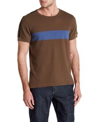 Lands' End - Seam Seal Colorblock Tee - Lyst