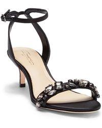 Imagine Vince Camuto - Kolo Jeweled Ankle Strap Sandal - Lyst