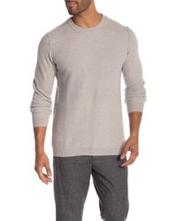Autumn Cashmere - Honeycomb Crew Neck Sweater - Lyst