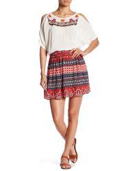 Raga - Canyon Horizon Mini Skirt - Lyst
