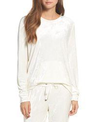 Make + Model - Velour Sweatshirt - Lyst