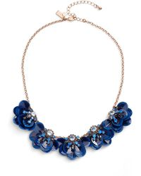 Kate Spade - Snowy Nights Sequin Necklace - Lyst