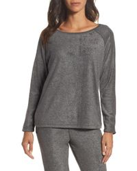 Love+Grace - Gena Fleece Sweatshirt - Lyst