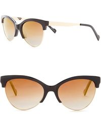 William Rast - Women's 55mm Polarized Cat Eye Sunglasses - Lyst