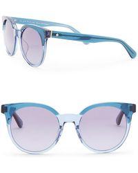 Kate Spade - Abianne 51mm Round Sunglasses - Lyst