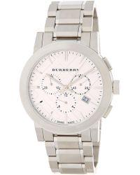 Burberry - Men's The City Chronograph Bracelet Watch - Lyst