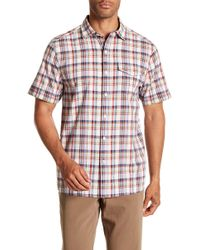 Tommy Bahama - Ocean Cay Plaid Shirt - Lyst
