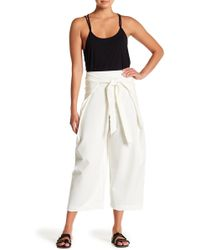 Threads For Thought - Front Wrap Culotte Pants - Lyst