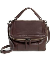 Vince Camuto - Large Patch Leather Crossbody Bag - Lyst