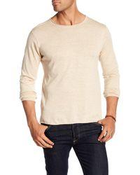 Loft 604 - Crew Neck Long Sleeve Pullover Shirt - Lyst