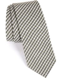 Calibrate - Plaid Woven Tie - Lyst