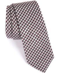 Calibrate - Plaid Tie - Lyst