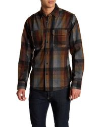 Jeremiah - Heather Brushed Twill Flannel Shirt - Lyst