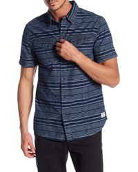 William Rast - Oak Chambray Regular Fit Button Down - Lyst