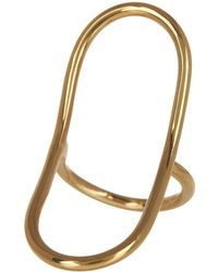 Soko - Open Oval Ring - Lyst