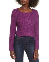 Raga - Bethany Crop Sweater - Lyst