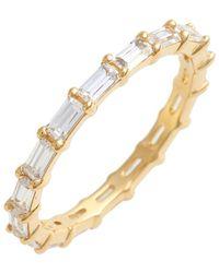 Judith Jack - Stackable Cubic Zirconia Baguette Ring - Lyst