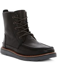 TOMS - Searcher Leather Boot - Lyst