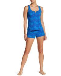 a0d5b42c6c3c Lyst - Honeydew Intimates Lovebirds 2-piece Pajama Set in Blue
