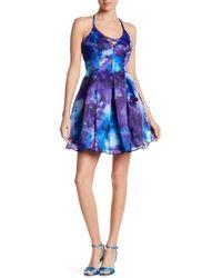 Jump | Watercolor Organza Party Dress | Lyst