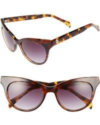 Draper James - Women's Gradient Lens Cat Eye Sunglasses - Lyst