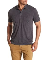 7 For All Mankind - Raw Placket Polo - Lyst