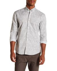 W.r.k. - Awaba Swirl Long Sleeve Shirt - Lyst