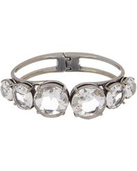 Marc By Marc Jacobs - Large Statement Hinged Stone Bracelet - Lyst