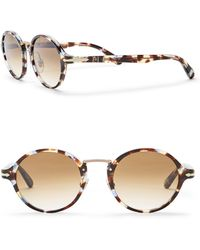 Persol - Round 48mm Sunglasses - Lyst