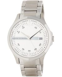 d044bbd5642 Lyst - Armani Exchange Men s Copeland Bracelet Watch for Men