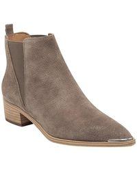 2c7b3d2d0f53 Lyst - Boutique 9 Pointed Toe Wedge Booties Soke Low Heel in Brown