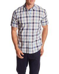 5a0fc118a77 Lyst - James Campbell Iona Regular Fit Short Sleeve Sport Shirt in ...