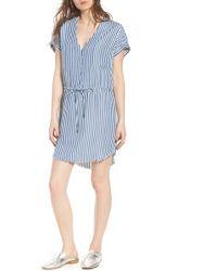 PAIGE - Haidee Stripe Shift Dress - Lyst
