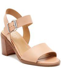 Franco Sarto - Harlie Ankle Strap Leather Sandal - Lyst