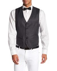Ted Baker - Troy Trim Fit Solid Wool Vest - Lyst