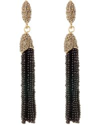 Vince Camuto - Seed Bead Tassel Earrings - Lyst