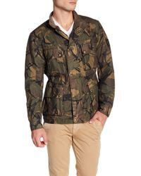 Belstaff - Tyefield Camo Wax Cotton Jacket - Lyst