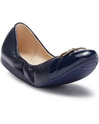 Cole Haan - Terrin Leather Ballet Flat - Lyst