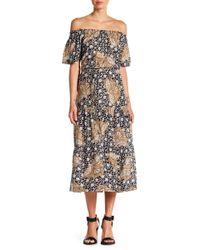 A.L.C. - Doris Off-the-shoulder Dress - Lyst