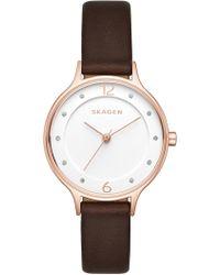 Skagen - Women's Anita Quartz Watch, 30mm - Lyst