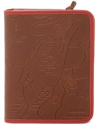 Fossil - Zip Leather Passport Case - Lyst