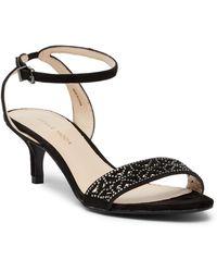 Pelle Moda - Otis Kitten Heel Sandal - Lyst