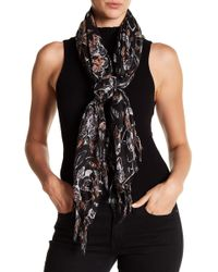Roffe Accessories | Floral Fringe Scarf | Lyst