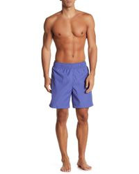 TRUNKS SURF AND SWIM CO - Reversible Printed Sano Swim Shorts - Lyst