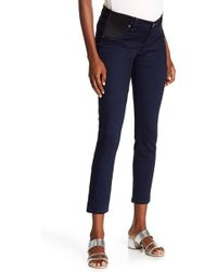 PAIGE - Verdugo Ankle Jeans (maternity) - Lyst