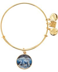 ALEX AND ANI - Polar Bears Expandable Wire Bracelet - Lyst